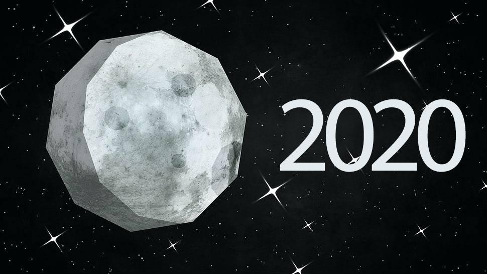 Mėnulio kalendorius 2020 metams