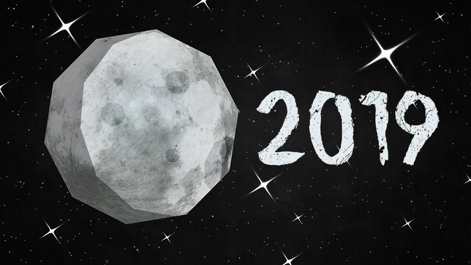 Mėnulio kalendorius 2019