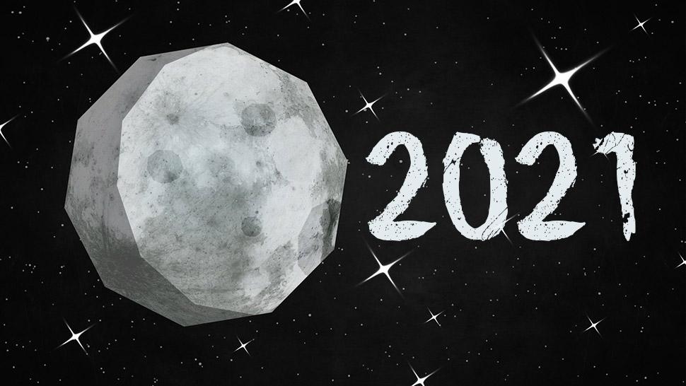 Mėnulio kalendorius 2021